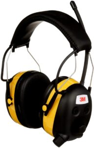 3M WorkTunes AM FM Hearing Protector with Audio Assist Technology
