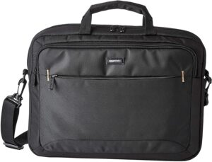Amazon Basics 15.6-Inch Laptop Computer and Tablet Shoulder Bag Carrying Case