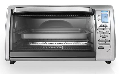 BLACK+DECKER CTO6335S Countertop Convection Toaster