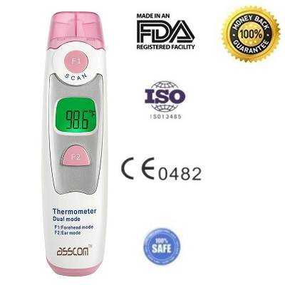Baby Thermometer Asscom Ear Thermometer