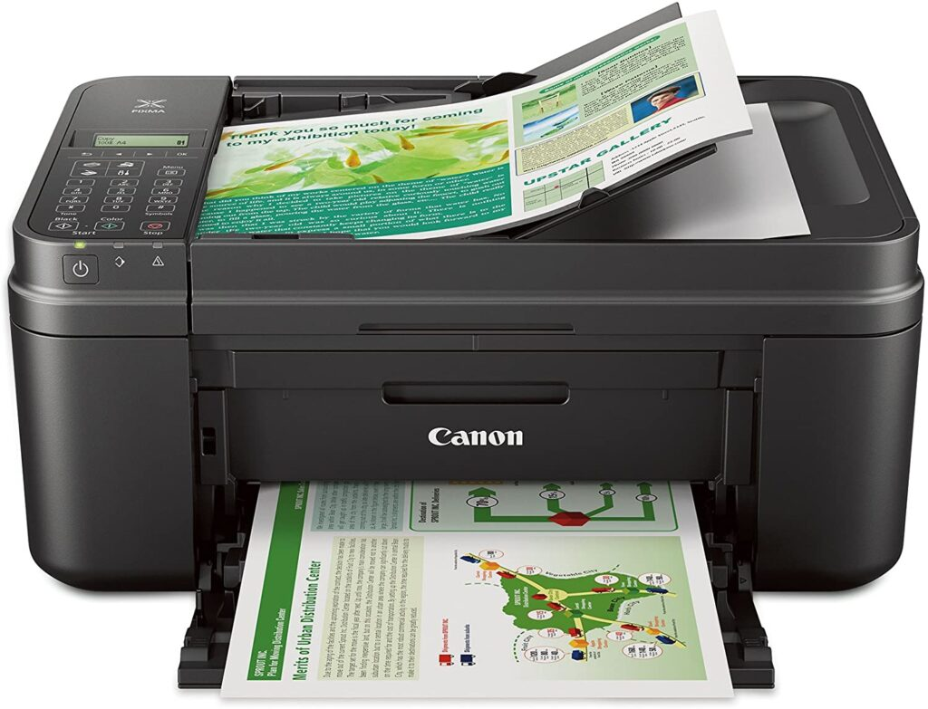Canon MX492 Black Wireless All-IN-One Small Printer with Mobile or Tablet Printing