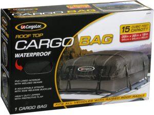 Cargoloc 32424 15-Cubic/Feet Deluxe Roof Top Waterproof