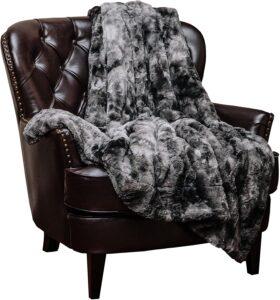 Chanasya Super Soft Fuzzy Faux Fur Throw Blankets