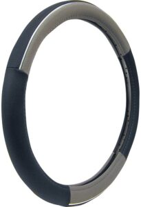 Custom Accessories 38850P Chrome Accent Steering Wheel Cover