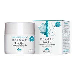 DERMA E Scar Gel - Therapeutic gel with Panthenol