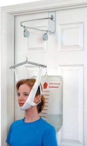 DMI Cervical Neck Traction Over the Door Device for Physical Therapy