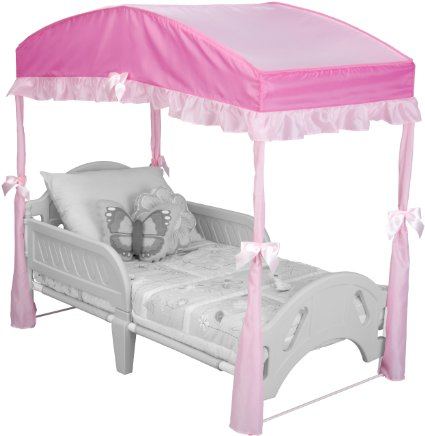 Delta Children Girls Canopy for Toddler Bed