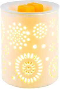 Electric Wax Melter COOSA Sunflower Pattern