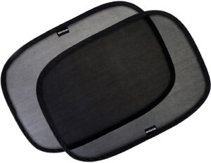 """Enovoe Car Window Shade for Baby - (4 Pack) - 19""""x12"""" Cling Baby Sun Shade for Car Window Side"""