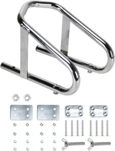 Extreme Max 5001.5763 Deluxe Chrome Motorcycle Wheel Chock