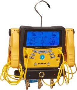 Fieldpiece SMAN360 3-Port Digital Manifold with Micron Gauge