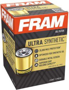 Fram Ultra Synthetic XG10060, 20K Mile Change