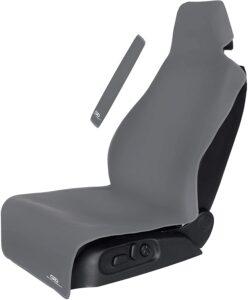 Gorla Gear Gray Premium Universal Fit Waterproof Stain Resistant Grey Car Seat Cover
