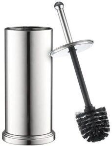 Home-it Toilet Brush Set Chrome Toilet Brush