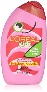 L'OREAL STRAWBERRY SMOOTHIE 2-IN-1 BABY SHAMPOO