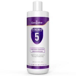 Lipogaine Big 5 Hair Stimulating Shampoo for Hair