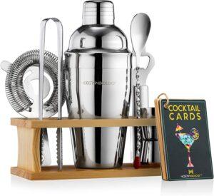 Mixology Bartender Kit with Stand | Bar Set