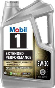 Mobil 1 Extended Performance Full Synthetic Motor Oil