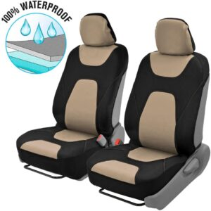 Motor Trend AquaShield Car Seat Covers for Front Seats