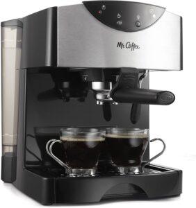 Mr. Coffee Automatic Dual Shot Espresso