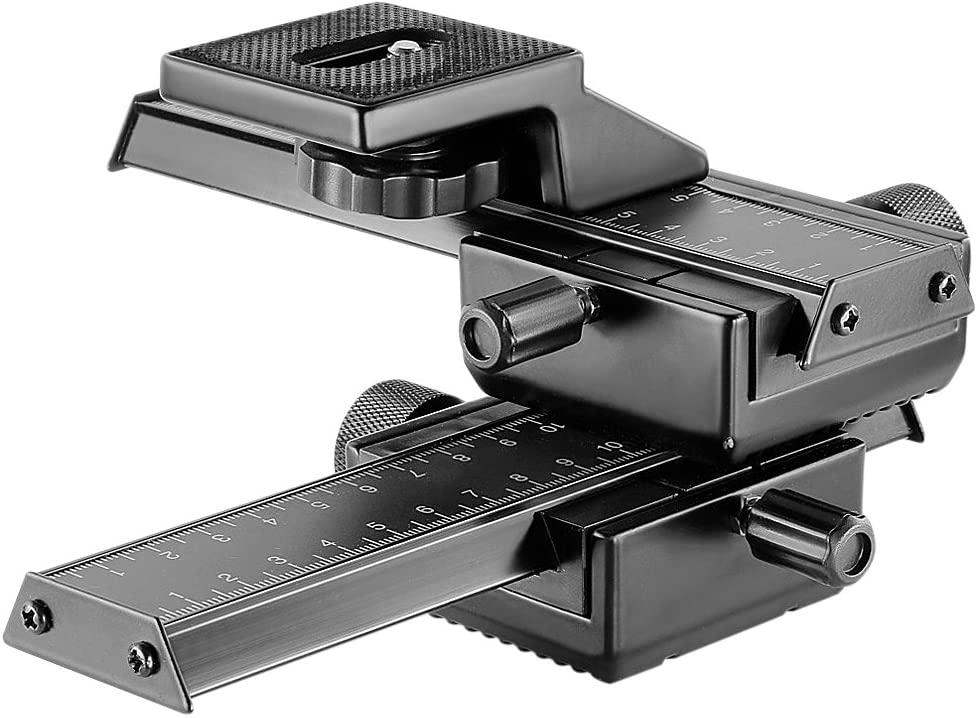 Neewer Pro 4 Way Macro Focusing Focus Rail Slider
