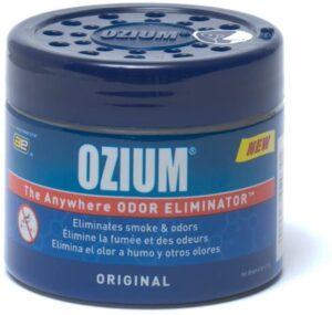 Ozium Smoke & Odors Eliminator Gel. Home, Office and Car Air Freshener