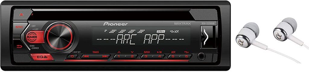 Pioneer Single Din In-Dash CD/CD-R/Rw, MP3/Wma/Wav Am/FM Front USB