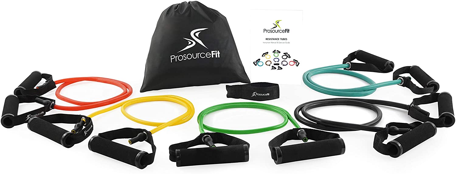 Prosource Fit Premium Heavy Duty Double Dipped Latex Stackable Resistance Band