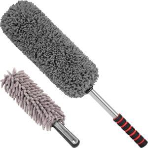 Relentless Drive Car Duster Kit – Microfiber Car Brush Duster