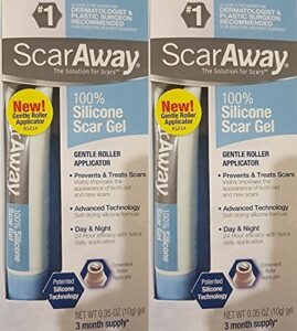 Scaraway Scar Repair Gel with Patented Kelo-cote Technology