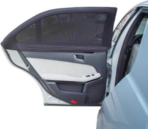 TFY Universal Car Side Window Sun Shade - Protects Your Kids from Sun Burn