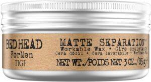 TIGI Bed Head for Men Matte Separation Workable Wax