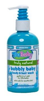 TRUBABY BUBBLY BABY BODY AND HAIR WASH SHAMPOO