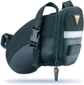 Topeak Small Aero Wedge Bicycle Saddle Bag with Straps