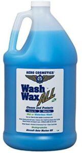 Wet or Waterless Car Wash Wax 128 Ounces