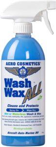 Wet or Waterless Car Wash Wax 16 oz