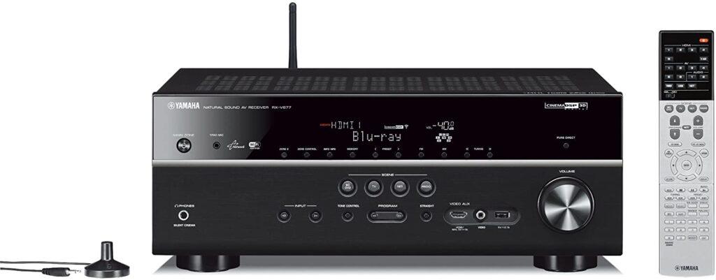Yamaha RX-V677 7.2-Channel Wi-Fi Network AV Receiver