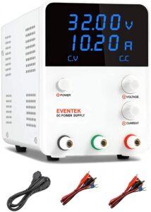 DC Power Supply Variable, Eventek 0-32V 0-10.2A Power Supply