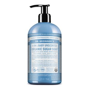 Dr. Bronner's - Organic Sugar Soap (Baby Unscented)