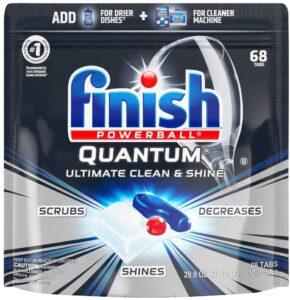 Finish - Quantum - 68ct - Dishwasher Detergent