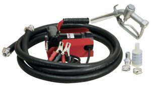 Fuelworks Diesel Fuel Transfer Pump Kit Portable 10GPM/40LPM Heavy Duty Electric