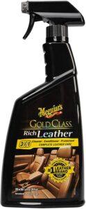 Meguiar's G10924SP Gold Class Rich Leather Cleaner