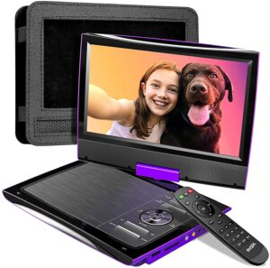 """SUNPIN 2021 New PD969 11"""" Portable DVD Player for Car with Headrest"""