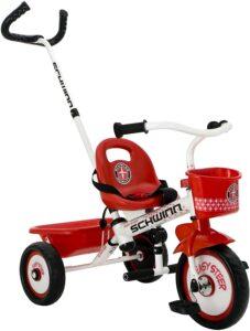 Schwinn Easy Steer Tricycle, Red White 8