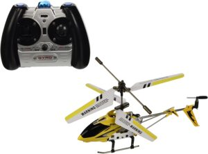 Syma 3 Channel S107 Mini Indoor Co-Axial Metal Body Frame & Built-in Gyroscope Helicopter