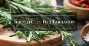 Substitutes For Tarragon